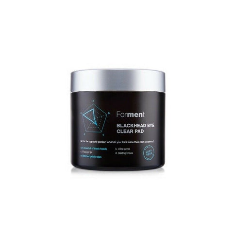 [Forment] Blackhead Bye Clear Pad 155g/5.27oz (70ea) K-beauty Men's Cosmetics - BEST BEAUTIP