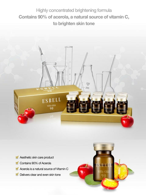 [Dr.Oracle] ESBELL Vita Cell 90 with 90% of acerola 3ml(0.1oz) x 10ea  K-beauty - BEST BEAUTIP