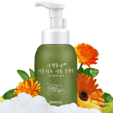 [Sidmool] Calendula Weak Skin Bubble Cleanser 315ml / 10.6oz K-beauty - BEST BEAUTIP