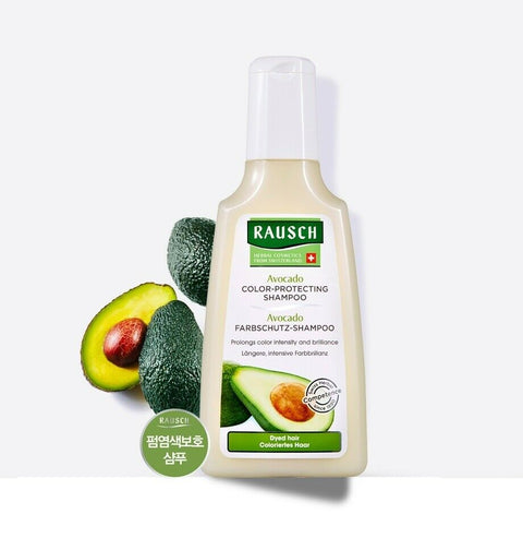 [RAUSCH] Avocado Color Protecting Shampoo 200ml /6.76oz with avocado for Dyed hair - BEST BEAUTIP