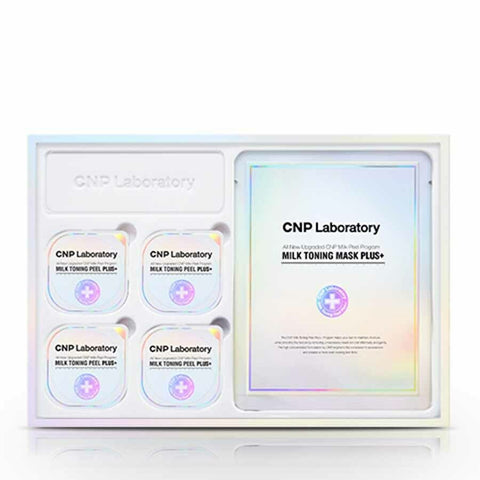 [CNP Laboratory] Milk Toning Peel Plus+ 3.5mlx4 Mask Plus+ 23mlx4 K-beauty - BEST BEAUTIP