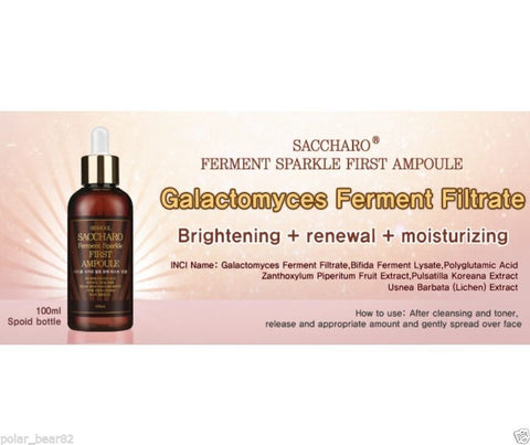 [Sidmool] Saccharo Ferment Sparkle First Ampoule 100ml/3.4oz Brightening K-beauty - BEST BEAUTIP
