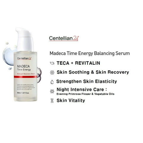 [Centellian24] Madeca Time Energy Midnight Recovery Serum 30ml / 1oz K-beauty - BEST BEAUTIP