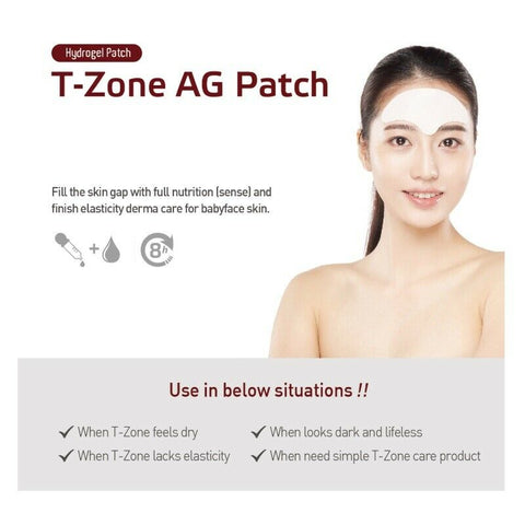 [Labottach] T-Zone AG Patch 1box(4ea) Anti-aging Patch for Forehead K-beauty - BEST BEAUTIP