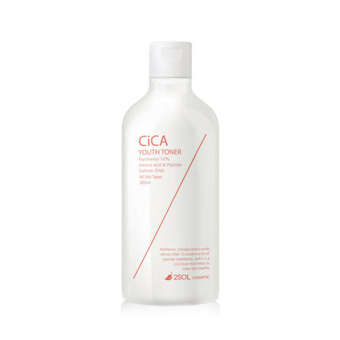 twinkidea - [2SOL] Cica Youth Toner 300ml /10.14oz for PH balance care, moisturizing - 2SOL - Toners