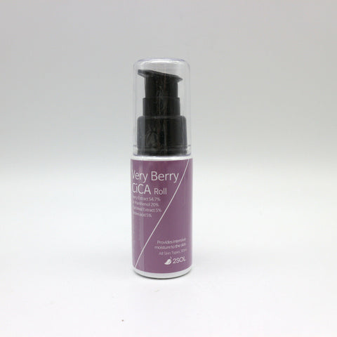 twinkidea - [2SOL] Very Berry CiCA Roll 30ml/1oz For intensive moisturizing K-beauty - 2SOL - Essences/Serums