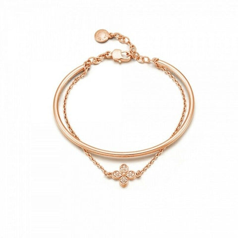 [RITA MONICA] Rose Gold BENI Layered Cuff Bracelet RC11-JMRB1 with Packing K-beauty - BEST BEAUTIP