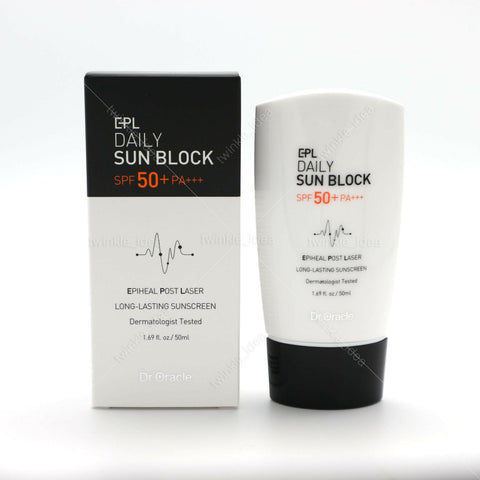 [Dr.Oracle] EPL Daily Sun Block SPF 50+ PA+++ 50ml / 1.69oz Losg-lasting K-beauty - BEST BEAUTIP