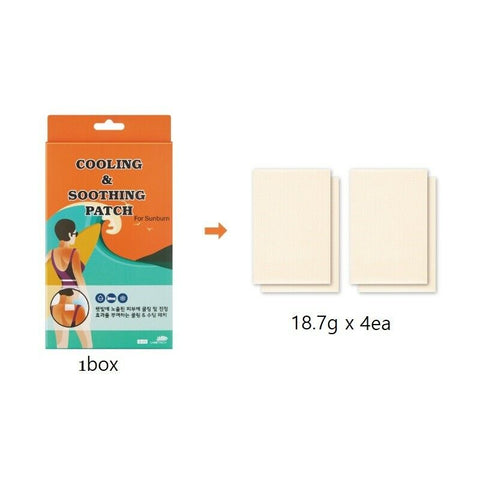 [Labottach] Cooling & Soothing Patch (4EA) Body Cooling Hydrogel Patch K-beauty - BEST BEAUTIP