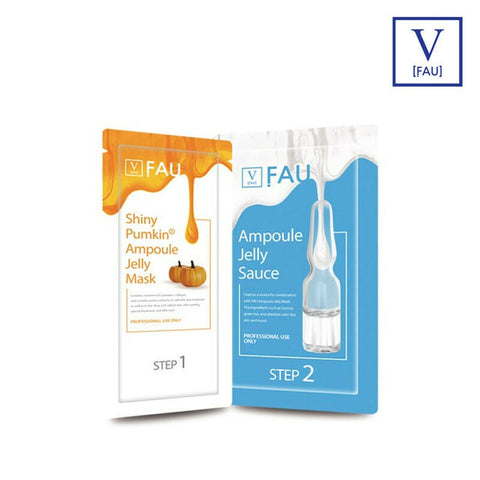 [FAU] Shiny Pumkin Ampoule Jelly Mask 1*3ea(1 BOX) Esthetic Brand K-beauty
