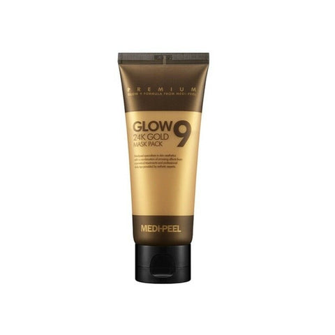 [MEDI-PEEL] Glow9 24K Gold Mask Pack 100ml(3.38oz) 99.9% pure 24K gold K-beauty