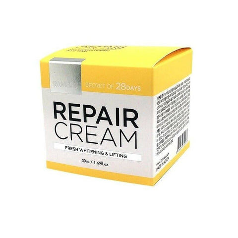 [Ramosu] 28 Days Repair Cream 50ml(1.69oz) K-beauty Whitening Anti-wrinkle - BEST BEAUTIP