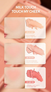 [Milk Touch] Touch My Cheek 8.5g K-beauty (Choice of 3 colors) - BEST BEAUTIP