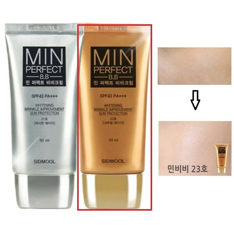 [Sidmool] MIN Perfect B.B Cream 50ml / 1.69oz SPF43 PA+++ K-beauty - BEST BEAUTIP