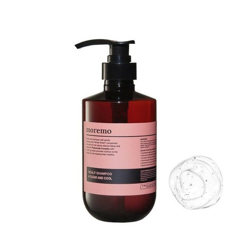 [Moremo] Scalp Shampoo Clear And Cool 500ml(17oz) Hair Care Scalp Shampoo K-beauty - BEST BEAUTIP