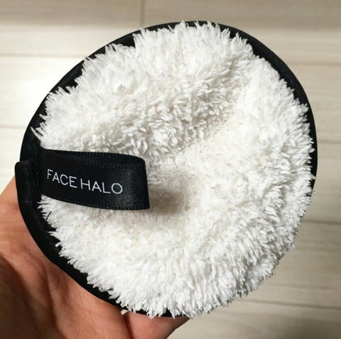 twinkidea - [Face Halo] The Modern Makeup Remover pack of 3 With soft satin edges - Face Halo - Cleansing Pads