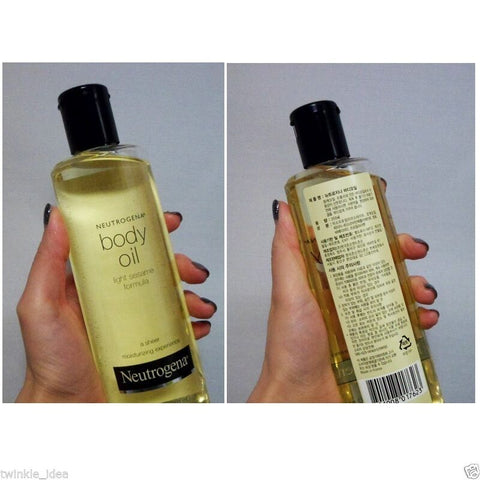 [Neutrogena] Light Sesame Formula Body Oil Body Care 8.4oz/250ml - BEST BEAUTIP