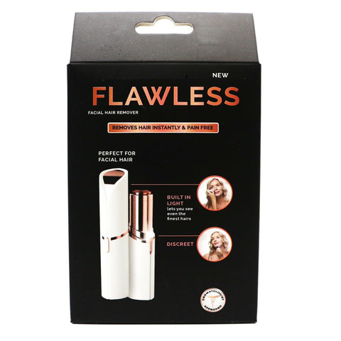 [Flawless] Facial Hair Remover Finishing Touch Women's Painles Hair Remover - BEST BEAUTIP
