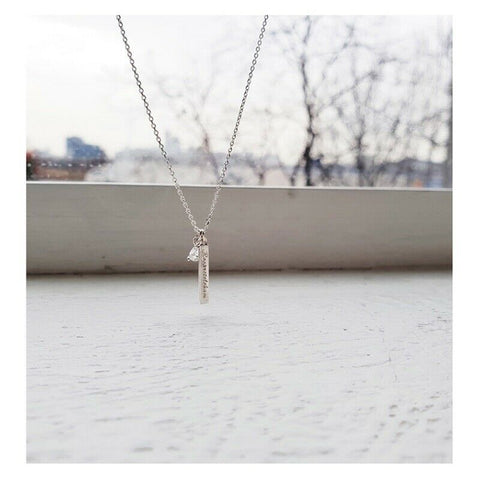 [WING BLING] Silver 925 Roopretelcham Necklace K-beauty - BEST BEAUTIP