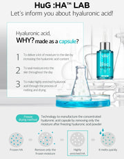 [Wellage] Real Hyaluronic Bio Capsule & Blue Solution Kit (15mg + 2ml) K-beauty - BEST BEAUTIP