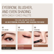 [CHICA Y CHICO] One Shot Eye Palette (2 Types) K-beauty Eye Shadow - BEST BEAUTIP