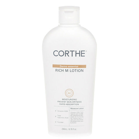 [DMS Dermoessential] Corthe Dermo Essential Rich M Lotion 200ml K-beauty - BEST BEAUTIP