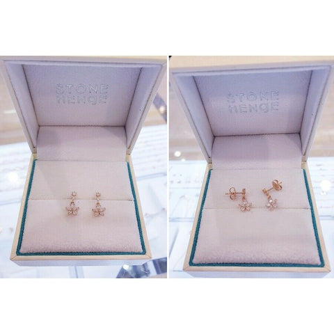 [STONE HENGE] Silver 925 Flower Mobil Earrings SC0968 with Case K-beauty - BEST BEAUTIP