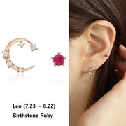 [LLOYD] 10K Pink Gold July Leo Earrings LPTK402GT with Case K-beauty - BEST BEAUTIP