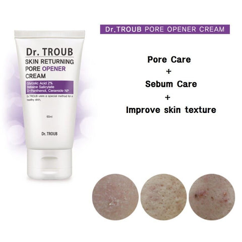 [Sidmool] Dr.Troub Pore Opener Cream 60ml / 2oz K-beauty Glycolic Acid Panthenol - BEST BEAUTIP