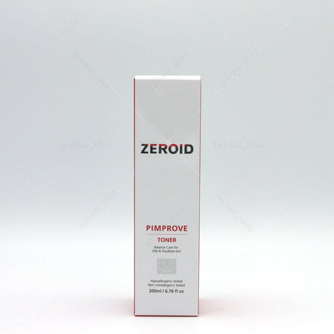 [ZEROID] Pimprove Toner 200ml / 6.76oz for oily and troubled skin K-beauty - BEST BEAUTIP