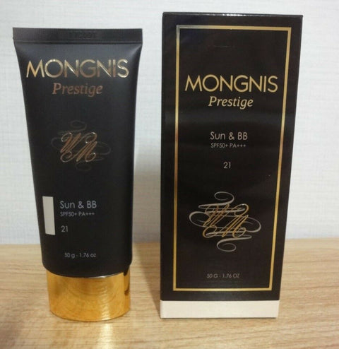 [MONGNIS] Prestige Sun Cream Sun&BB Cream SPF50+ PA+++ 50g / 1.76oz K-beauty - BEST BEAUTIP