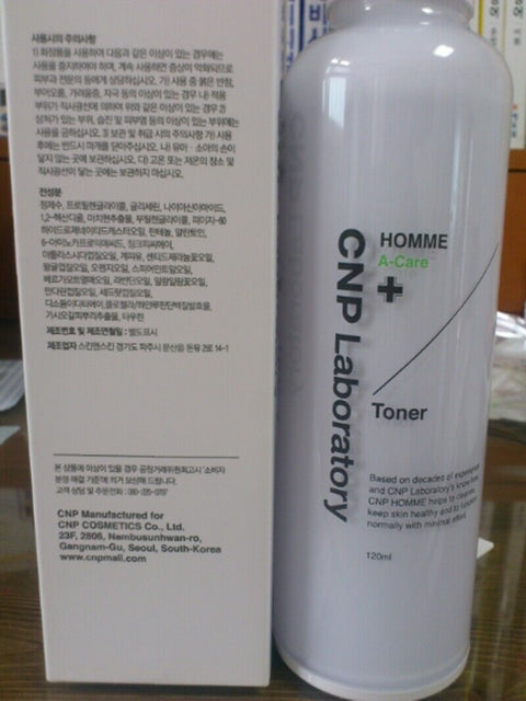 [CNP Laboratory] Homme A-Care Toner 120ml / 4oz for Man's Oily Skin K-beauty - BEST BEAUTIP