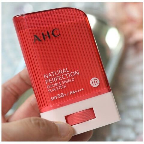 [AHC] Natural Perfecting Double Shield Sun Stick SPF50+ / PA++++ 22g K-beauty - BEST BEAUTIP