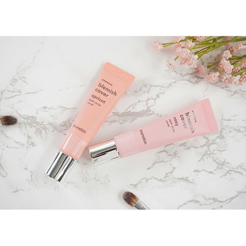 [Hanskin] Blemish Cover Dark Circle Cover 12g Apricot or Rost K-beauty - BEST BEAUTIP