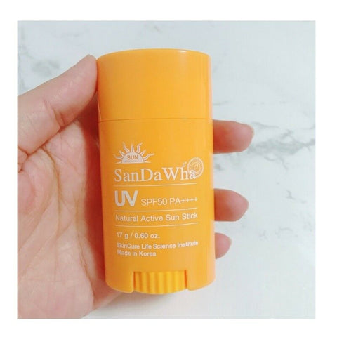 [SanDaWha] Natural Active Sun Stick SPF 50+/PA++++ 17g K-beauty - BEST BEAUTIP
