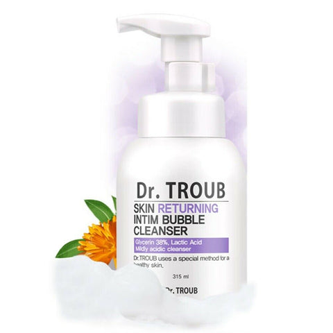 [Sidmool] Dr.Troub Skin Returning Intim Bubble Cleanser 315ml / 10.6 oz mild foam - BEST BEAUTIP