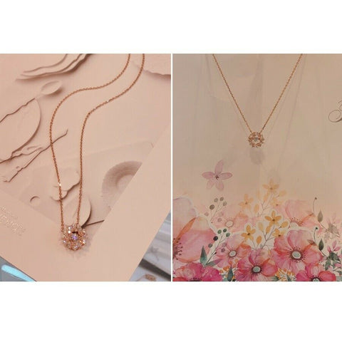 [STONE HENGE] SILVER 925 Dancing Stone Stella Necklace D0015 with Case K-beauty - BEST BEAUTIP
