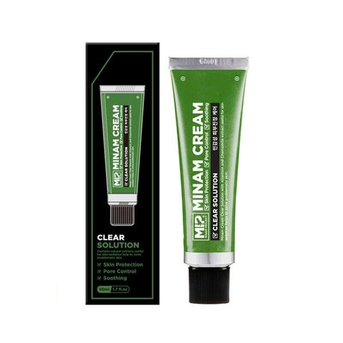 [MIP] Minam Cream Clear Solution 50ml/1.69oz Pore Care Men's Cosmetic K-beauty - BEST BEAUTIP