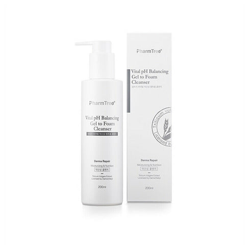 [Pharm Tree] Vital PH Balancing Gel To Foam Cleanser 200ml / 6.76oz PharmTree - BEST BEAUTIP