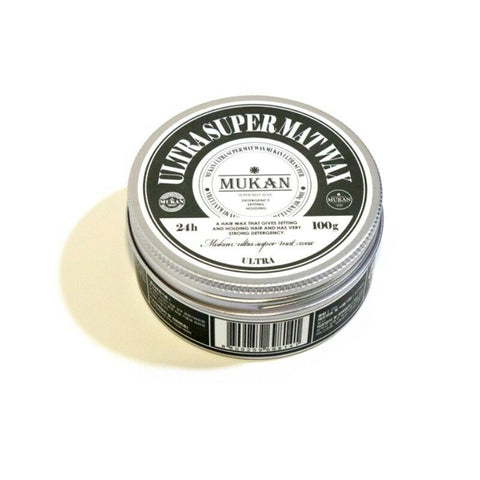 [MUKAN] Ultra Super Mat Wax 100g/3.52oz Hair Wax K-beauty Men's Cosmetics - BEST BEAUTIP