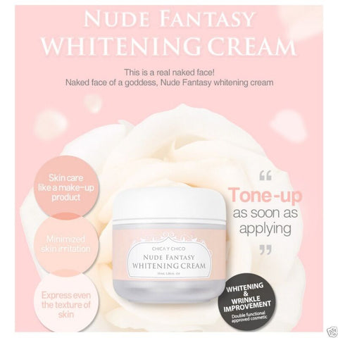 [CHICA Y CHICO] Nude Fantasy Whitening Cream Brightening Cream 55ml/1.9oz K-beauty - BEST BEAUTIP