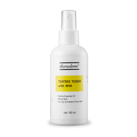 [theraderm] Teatree Toner with BHA 140ml / 4.73oz for Oily skin K-beauty - BEST BEAUTIP