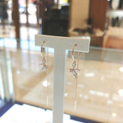 [STONE HENGE] Silver925 Rose Gold Butterfly Drop Earring SC1082 with Case K-beauty - BEST BEAUTIP