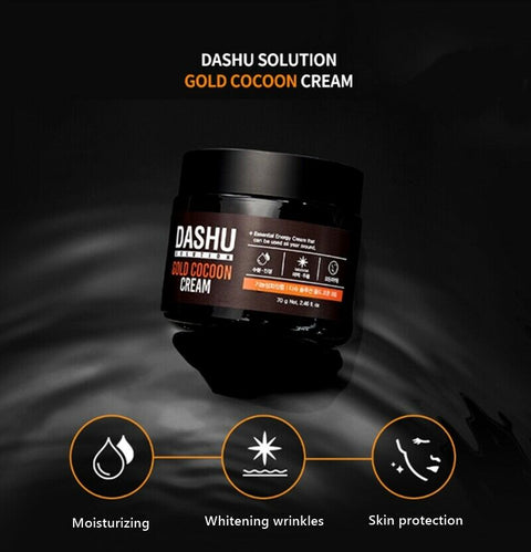 [Dashu] Gold Cocoon Cream 70g / 2.46oz for Man's SkinCare - BEST BEAUTIP