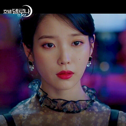 [GETMEBLING] Dolce Vita Tears Earrings K-drama IU Wearing of Drama Hotel DelLuna - BEST BEAUTIP