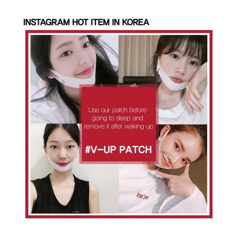 [Labottach] V-Up Patch 1box 10 Patches (1pouch=2patches) Lifting Band For V-line K-beauty - BEST BEAUTIP