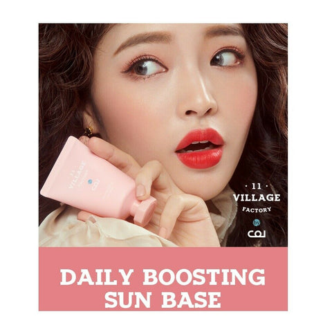 [VILLAGE 11 FACTORY] by J Col Daily Boosting Sun Base 30ml / 1oz K-beauty - BEST BEAUTIP