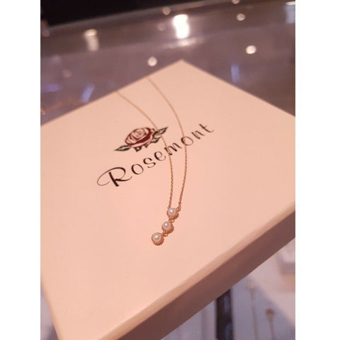 [ROSEMONT] 14K Pearl Necklace with Case K-beauty IU Wearing of Hotel DelLuna - BEST BEAUTIP