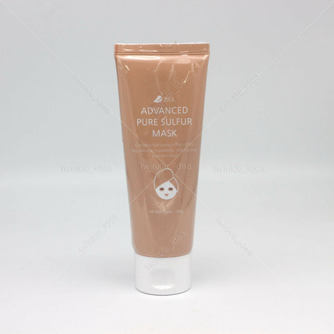 [2SOL] Advanced Pure Sulfur Mask 100g/ 3.52oz K-beauty Jeju volcanic - BEST BEAUTIP