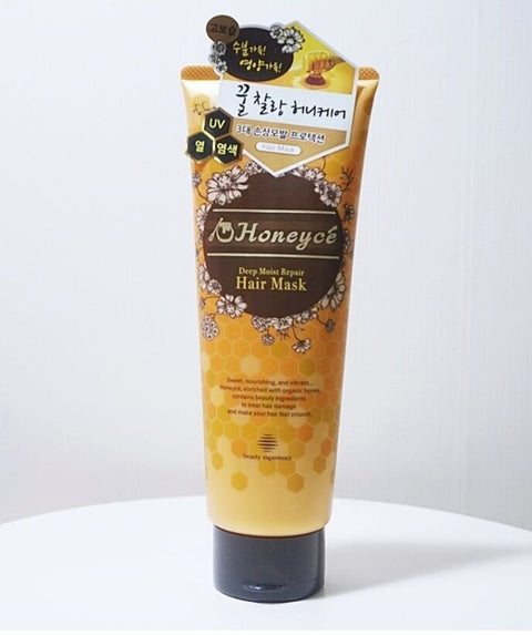 [Honeyce] Honey Deep Moist Repair Hair Mask 200g/7oz Japan 8 honey ingredients - BEST BEAUTIP